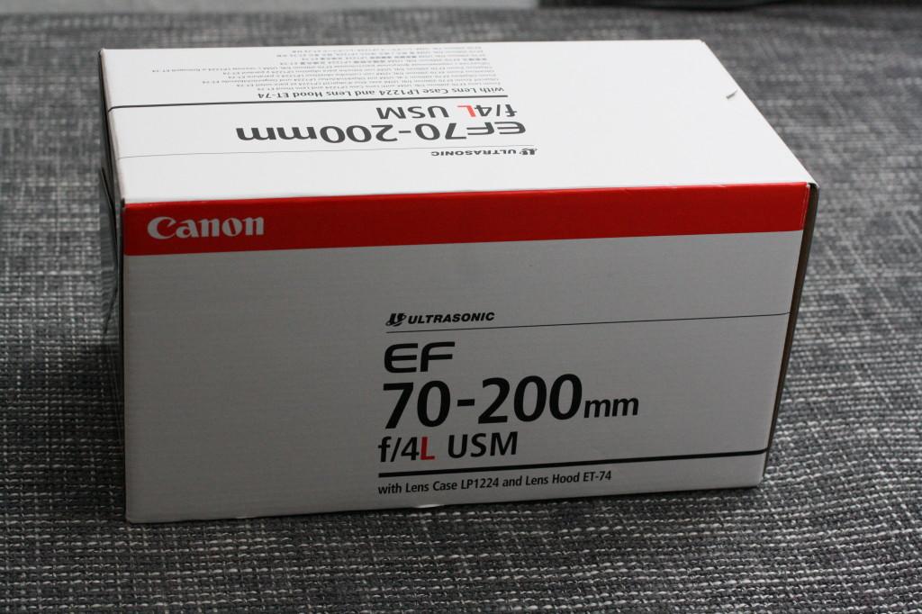 Canon 70 - 200 L Box