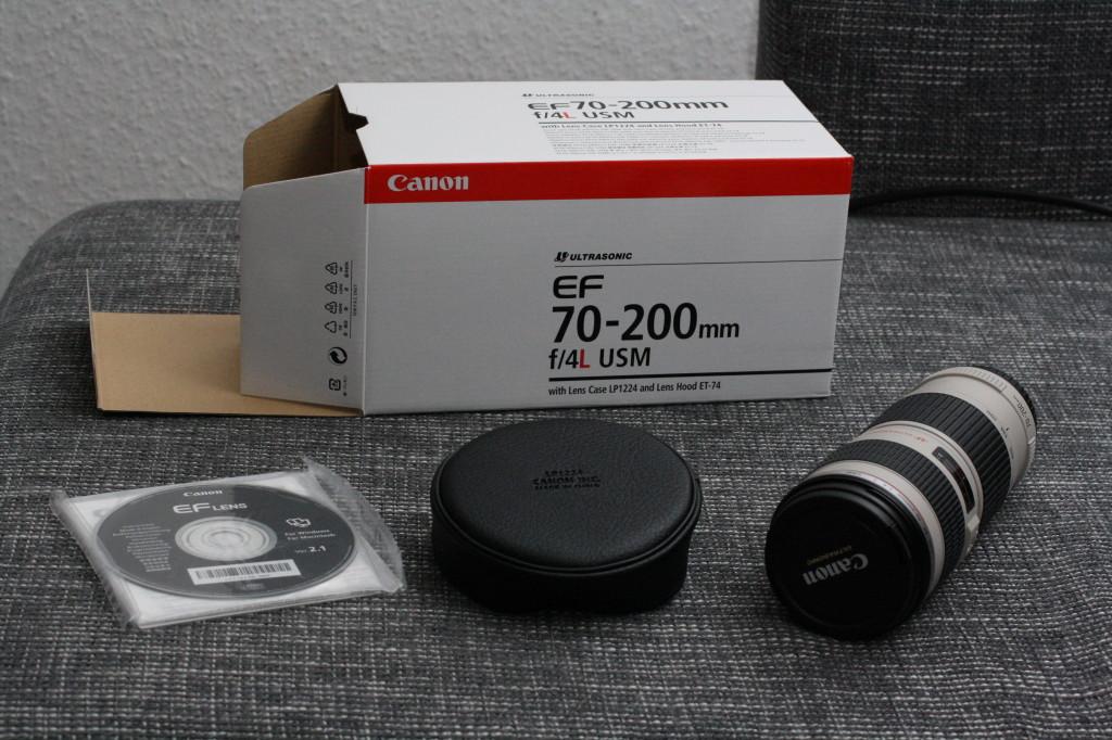 Canon 70 - 200 L Objektivköcher
