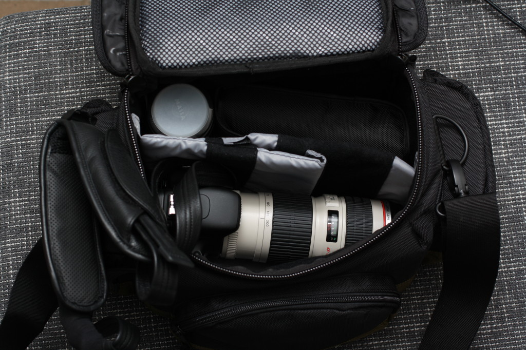 Canon Deluxe Gadget 10EG Objektiv Body Blitz