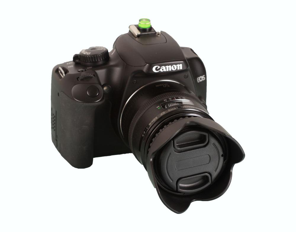 Objektivdeckel Sonnenblende Canon Eos