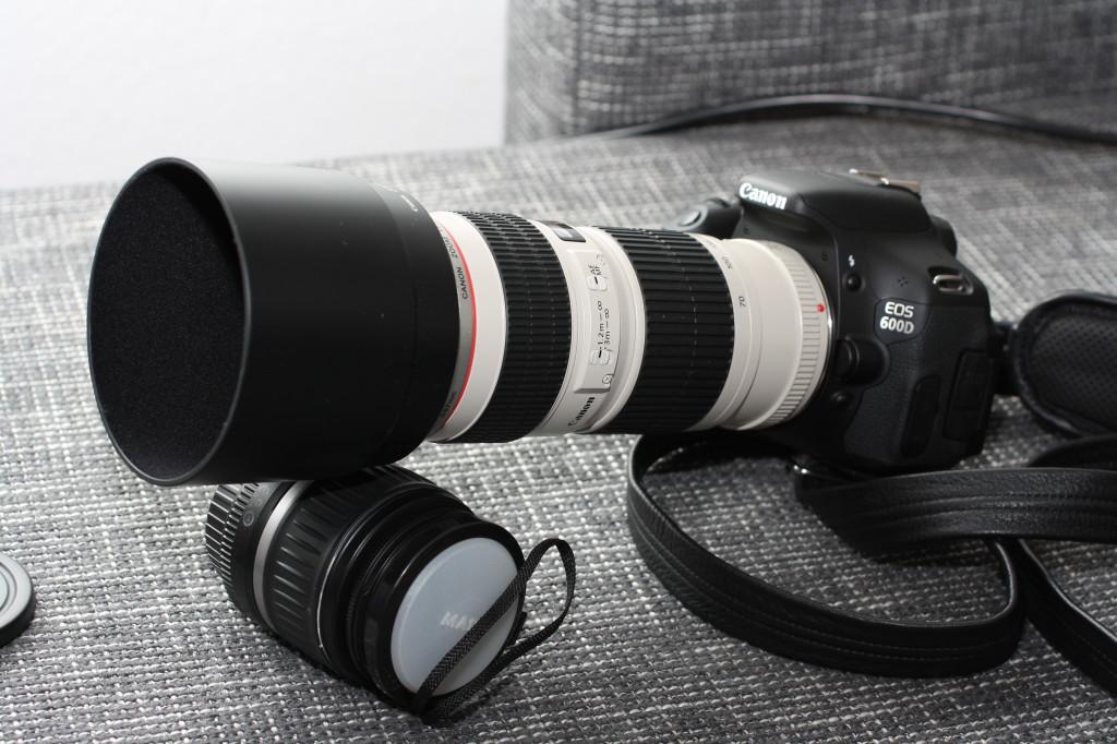 Sonnenblende Canon 70 200 L